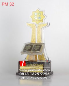 Piala & Trophy MTQ  Resin Fiber